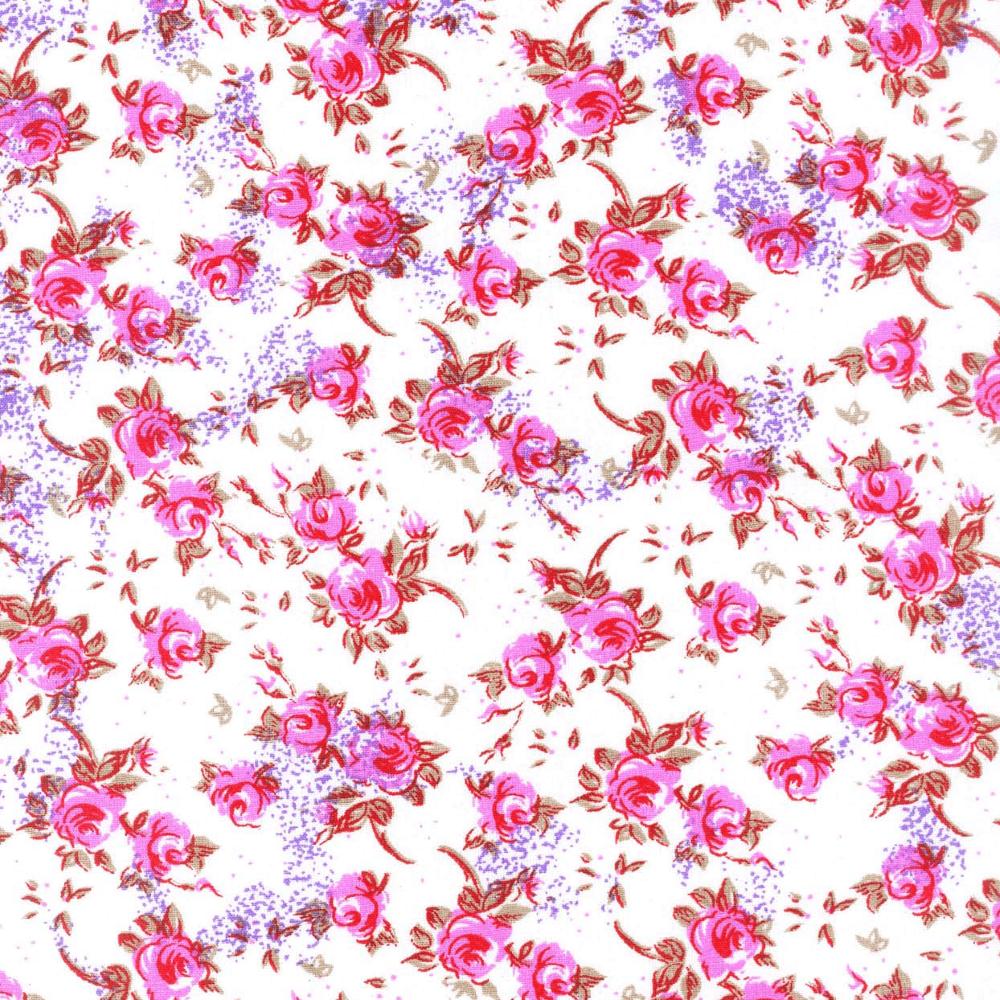 Tricoline Estampado Floral Mogiana S18097-02 TRICOLINE ESTAMPADO