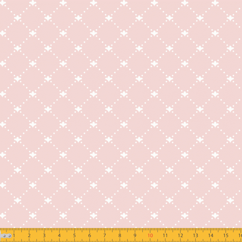 Tricoline Estampado Geométrico Lis P1192-53 Rose TRICOLINE ESTAMPADO