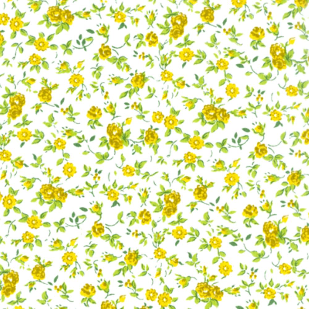 Tricoline Floral Duque S1624-3 TECIDO TRICOLINE ESTAMPADO
