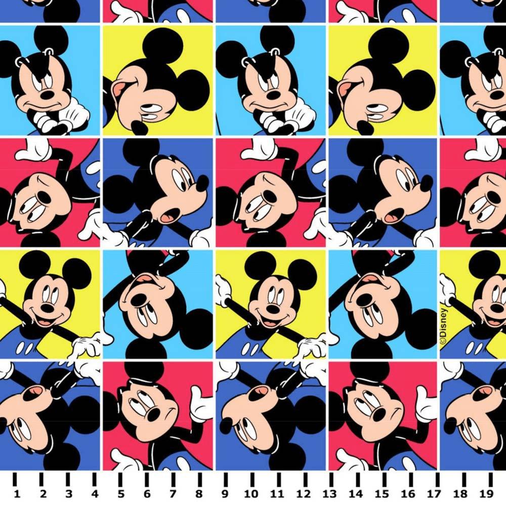 Tricoline Personagens Mickey MK002C01 TRICOLINE ESTAMPADO