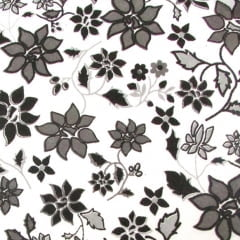 Tricoline Estampado Flores PB S12850-1A