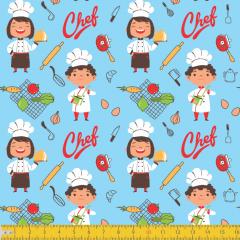 Tricoline Chefs de Cozinha P6124-01