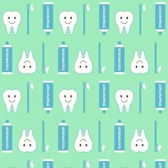 Tricoline Dentes DX3312-3 Verde TECIDO TRICOLINE ESTAMPADO