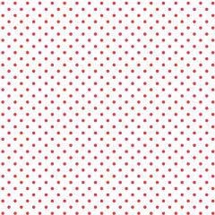 Tricoline Bolinhas Micro P1002-148 Branco com Vermelho
