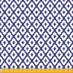 Tricoline Estampado Azulejo P2044-01