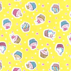 Tricoline Estampado Cupcake S1807-01A