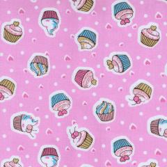 Tricoline Estampado Cupcake S1807-02