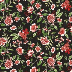 Tricoline Estampado Floral D5593B