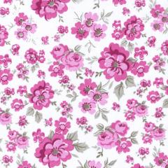 Tricoline Estampado Floral Amanda S1589-03 Pink
