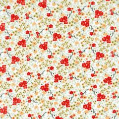 Tricoline Estampado Floral Cassis S176-01A
