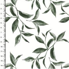 Tecido Tricoline Estampado Folhas DX3394-05