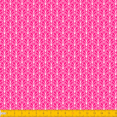 Tricoline Estampado Folhas P1232-108 Pink