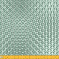 Tricoline Estampado Folhas P1232-129 Verde