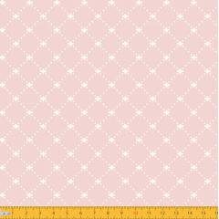 Tricoline Estampado Geométrico Lis P1192-53 Rose