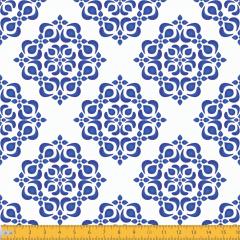 Tricoline Estampado Azulejo Mandala P2019-01