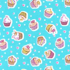 Tricoline Estampado Cupcake S1807-03