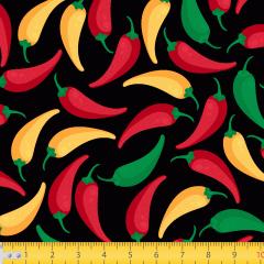 Tricoline Estampado Pimentas P7116-01