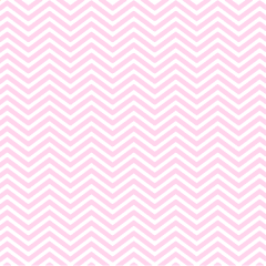 Tricoline Estampado Mini Chevron Rosa P1209-7