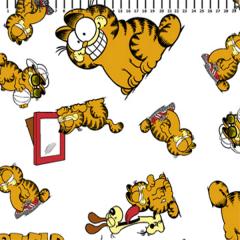 Tricoline Personagens Garfield GA006C01 TRICOLINE ESTAMPADO