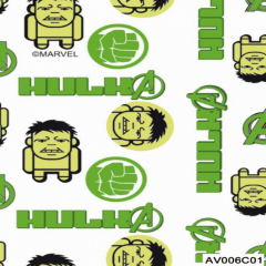 Tricoline Personagens Marvel Vingadores AV006C01 Hulk