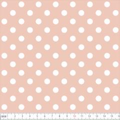 Tricoline Bolinhas Grandes P1554-53 Rose