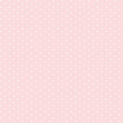 Tricoline Bolinhas Micro P1002-81 Rosa