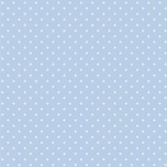 Tricoline Bolinhas Micro P1002-82 Azul com Branco