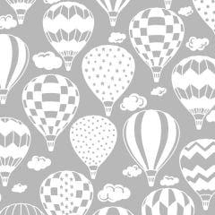 Tricoline Balão Cinza TK1914 - Infantil